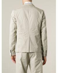 DSquared² | White Contrasting Panel Blazer for Men | Lyst
