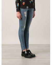 Stella McCartney - Blue Skinny Jeans - Lyst