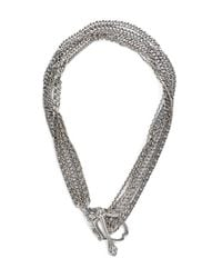 Stephen Webster | Metallic Jewels Verne Multi-Chain Sterling Silver Toggle Necklace | Lyst