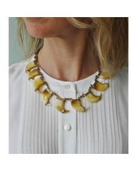 Lulu Frost   Metallic Cleo Multi Necklace   Lyst
