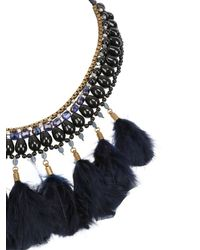 Isabel Marant Blue Oh Me Collection Necklace