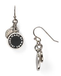 Marc By Marc Jacobs - Metallic Enamel Disc Earrings - Lyst