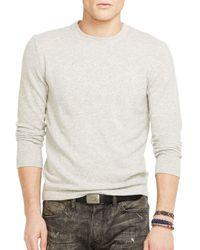 Ralph Lauren - Natural Polo Lightweight Cashmere Sweater - Lyst