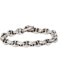 Hoorsenbuhs - Metallic Diamond & Sterling Silver Bracelet for Men - Lyst