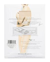 Donna Karan   Natural Toeless Control Top Sheer Hosiery   Lyst