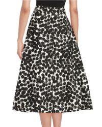 Trina Turk - Black Charmer Monochrome Skirt - Lyst