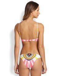 Mara Hoffman   Pink Cropped Bikini Top   Lyst