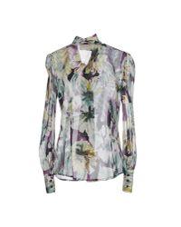 Dolce & Gabbana - Purple Shirt - Lyst