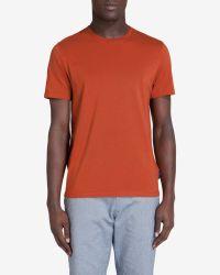 Ted Baker - Orange Crew Neck T-shirt for Men - Lyst
