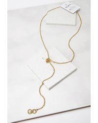 Forever 21 | Metallic Soko Lariat Necklace | Lyst