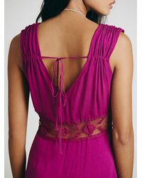 Free People | Purple Womens Summer Feeling Dress | Lyst