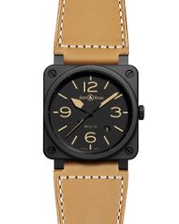 Bell & Ross Natural 0392 Heritage Ceramic Watch for men