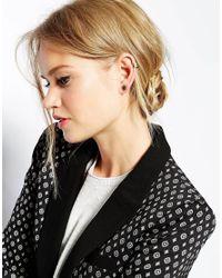 ALDO - Black Prigosien Multipack Stud Earrings - Lyst