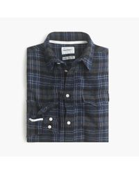 J.Crew | Blue Norse Projects Lightweight Flannel Shirt for Men | Lyst