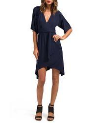 Lamade | Blue 'oni' Kimono Dress | Lyst