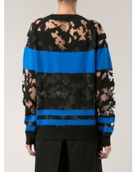 Alexander Wang - Black 'burn Out' Pullover - Lyst