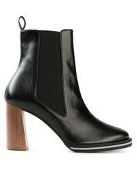 Stella McCartney - Black 'Iselin' Ankle Boots - Lyst