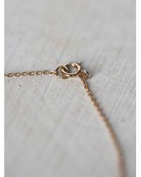 Free People | Metallic Communion By Joy Womens Inner Light Necklace | Lyst