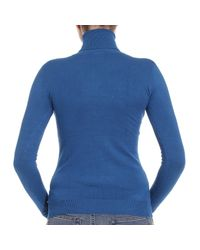 Pinko | Blue Sweater | Lyst
