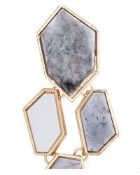 H&M   Blue Long Earrings   Lyst