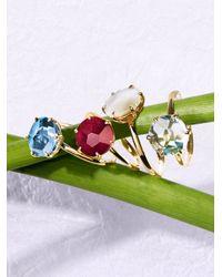 Ippolita | Metallic Rock Candy London Blue Topaz & 18k Yellow Gold Ring | Lyst