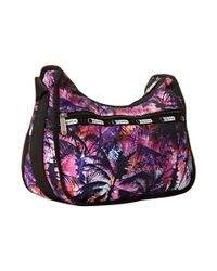 LeSportsac - Purple Classic Hobo Bag - Lyst