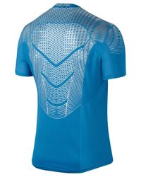 Nike - Blue Men's Hypercool Dri-fit Max Fitted T-shirt for Men - Lyst