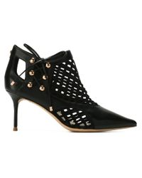 Sophia Webster Black 'Jetta' Boots