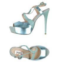 Pinko - Green Sandals - Lyst