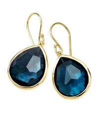 Ippolita | Blue Medium Teardrop Earrings | Lyst