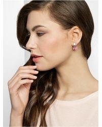 BaubleBar - Multicolor Echo Ear Jackets-Pink/Hematite - Lyst