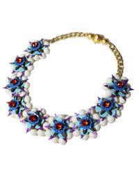 Shourouk | Blue Necklace | Lyst