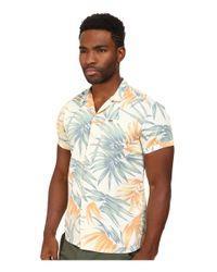 Scotch & Soda Natural Retro Gentleman Short Sleeve Shirt for men