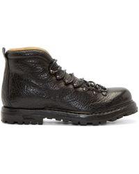 Officine Creative - Black Grained Kontra Boots for Men - Lyst