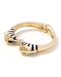 Banana Republic | Metallic Zebra Bracelet | Lyst
