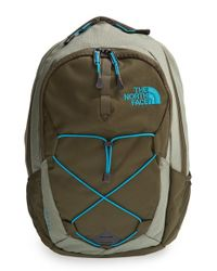The North Face - Green 'jester' Backpack for Men - Lyst