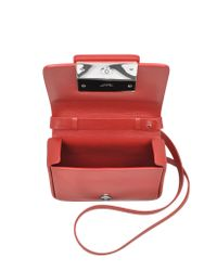 Jil Sander - Red Lady J Crossbody Clutch - Lyst
