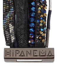 Hipanema - Black Embellished Cuff - Lyst