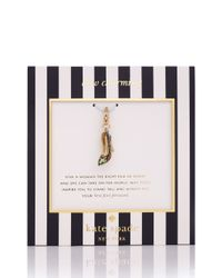 kate spade new york Yellow Taxi Charm