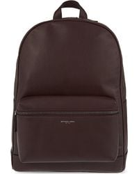 Michael Kors | Purple Dylan Milled Italian Leather Backpack | Lyst