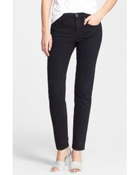Vince | Black 'mason' Relaxed Rolled Jeans | Lyst