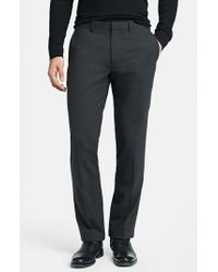 Theory | Gray 'marlo New Tailor' Slim Fit Pants for Men | Lyst