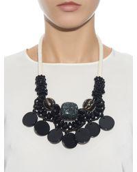 Weekend by Maxmara - Black Tema Necklace - Lyst