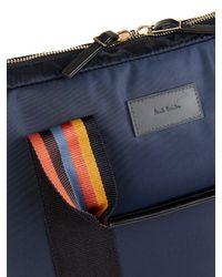 Paul Smith - Blue Nylon Laptop Bag for Men - Lyst