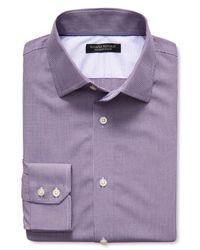 Banana Republic | Purple Slim-fit Non-iron Micro-gingham Shirt for Men | Lyst