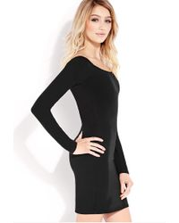 Forever 21 Black Standout Bodycon Dress