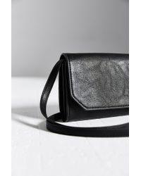 Kimchi Blue Black Mini Envelope Shoulder Bag