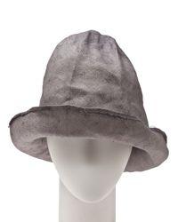 Reinhard Plank Gray Artista Hat