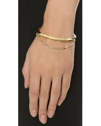Eddie Borgo | Metallic Peaked Chain Cuff | Lyst