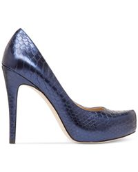 BCBGeneration | Blue Parade Platform Pumps | Lyst
